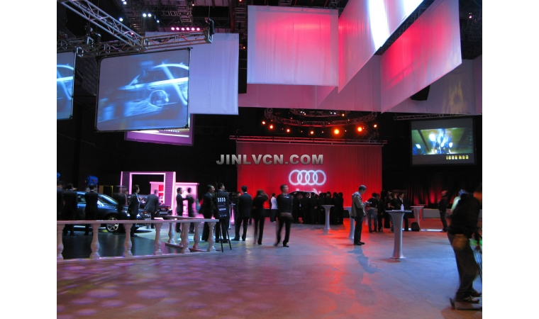 Audi Show Room of FAW in Hong Kong Auto Fair
